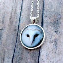 Load image into Gallery viewer, Barn Owl Necklace - Jax Allen Designs
