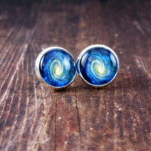 Load image into Gallery viewer, Galaxy Space Earrings - Jax Allen Designs