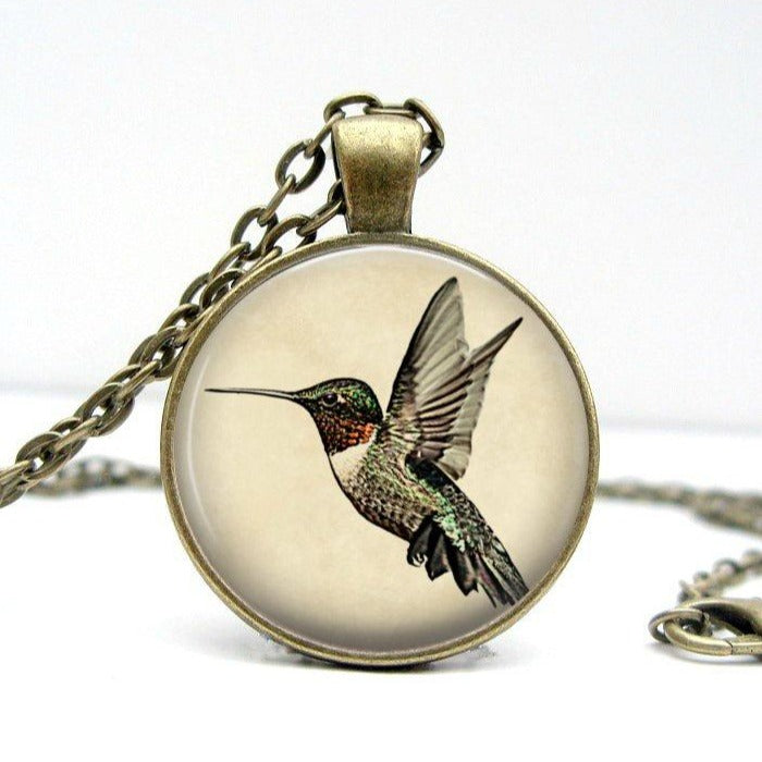 Hummingbird Necklace - Jax Allen Designs