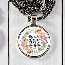 Load image into Gallery viewer, Bible Verse Necklace or Keychain - Jax Allen Designs