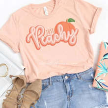 Load image into Gallery viewer, Just Peachy T Shirt - Jax Allen Designs