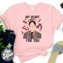 Load image into Gallery viewer, Valentines My Heart Only Beets T Shirt
