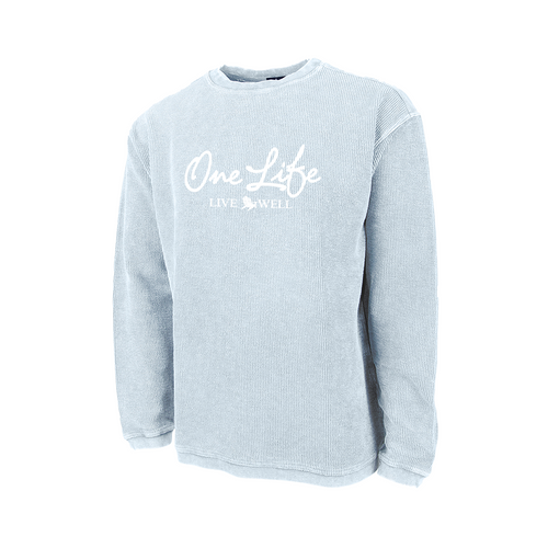 WINTER EXCLUSIVE Camden Crew Neck Ribbed Sweatshirt
