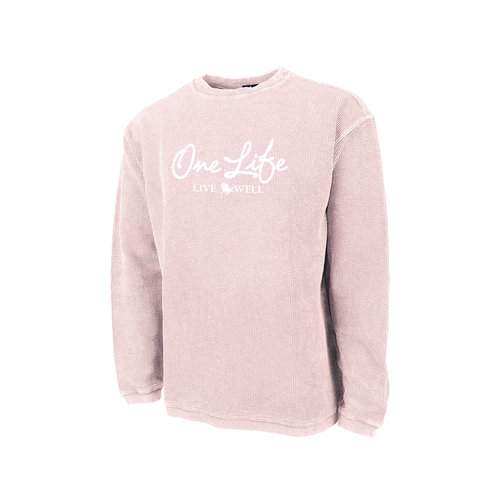 One Life Ribbed Sweatshirt