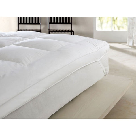 ROYAL FORT GOOSE FEATHER & DOWN MATTRESS TOPPER 750GSM