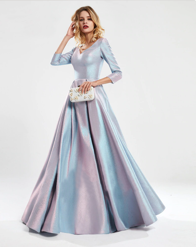 Cassandra Metallic Gown