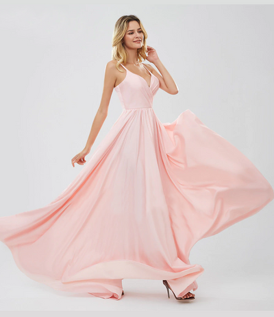 Kelyn Satin Formal Gown