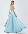 Ambika Satin Formal Gown - Blue