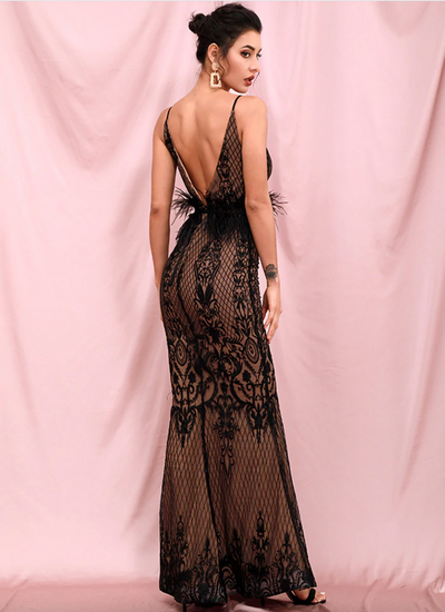 Kimia Embroidered Gown