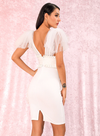 Antoinette Cocktail Dress - White