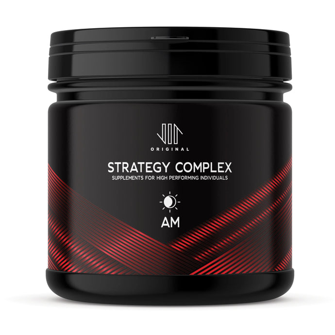 Supplements, Strategy Complex, Health supplements to help with focus and energy