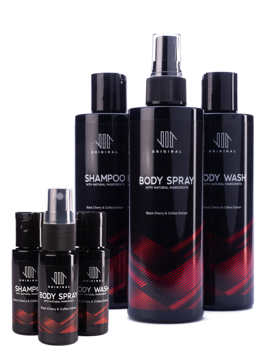 Vir Original, Body Spray, Body Wash, Shower Gel, Shampoo, Travel Set, Gift Set