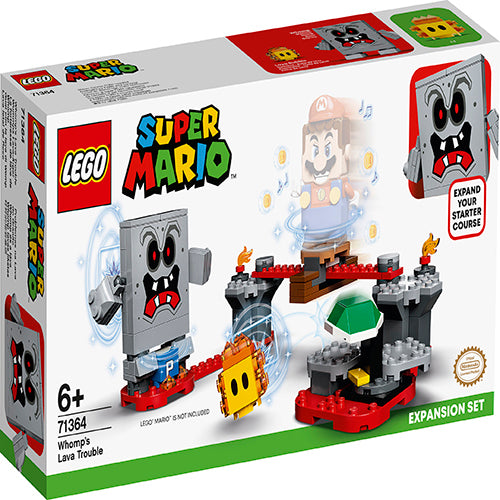 LEGO® Super Mario™ Whomp's Lava Trouble Expansion Set 71364