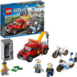 LEGO® City police Tow Truck Trouble Building Toy 60137