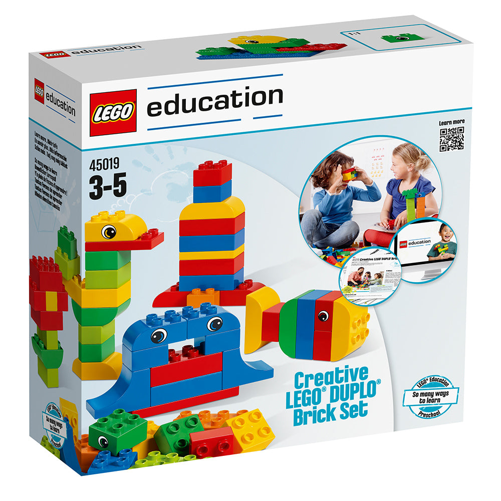LEGO Education DUPLO Creative Brick set 45019 box
