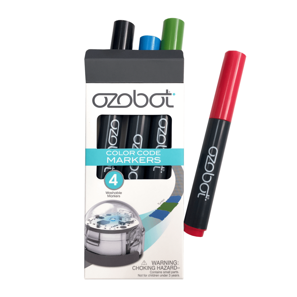 Ozobot Washable Markers, Color