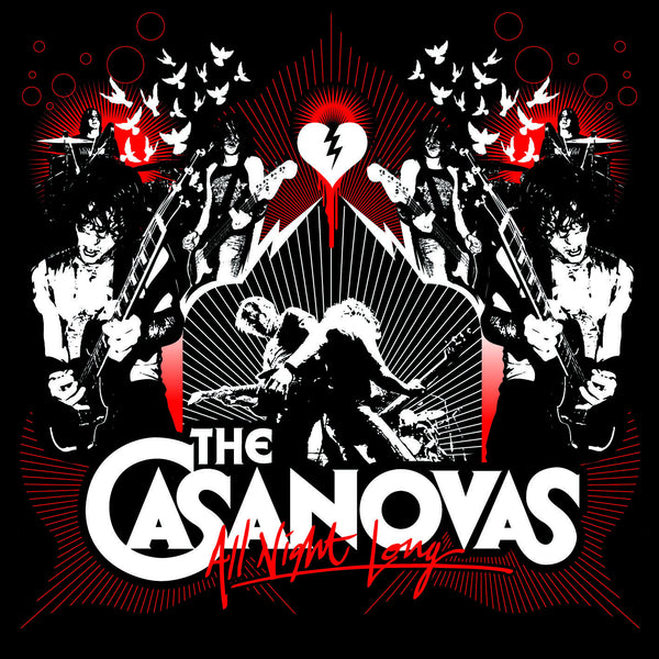 The Casanovas - All Night long (Standard, Bonus DVD, and Japanese Versions)
