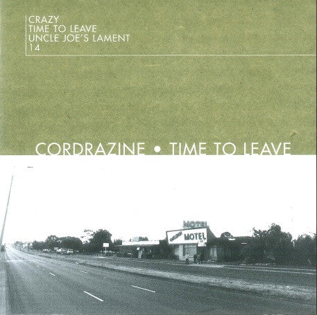 Cordrazine - Time To Leave (EP) (CD)