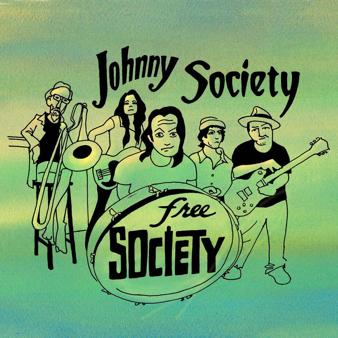 Johnny Society - Free Society