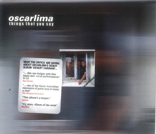 Oscarlima - Things That You Say (EP)