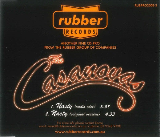 The Casanovas - Nasty (Single)