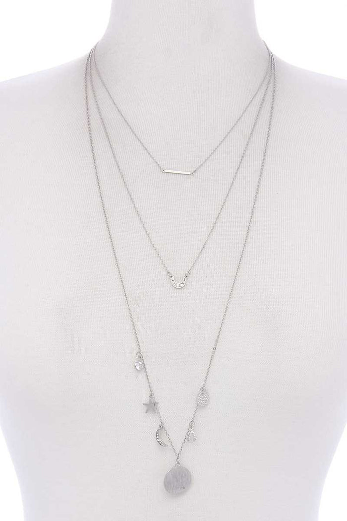 Layer Charm Necklace