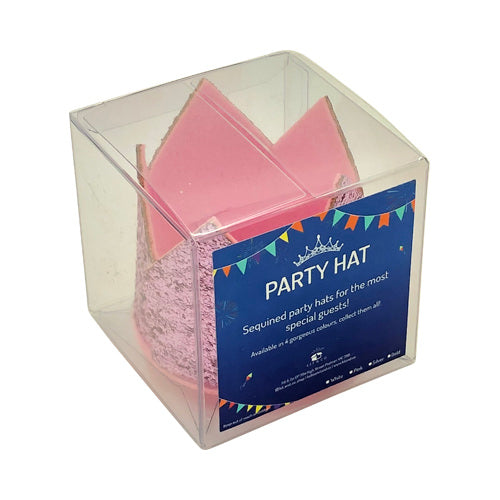 Glitter Party Hats - Kit&Co pink and pink