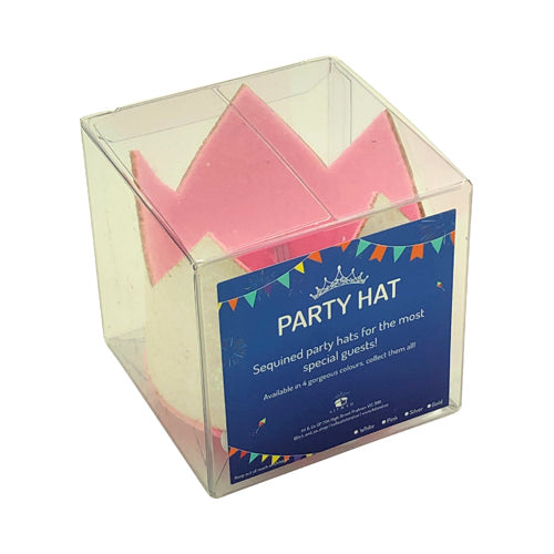 Glitter Party Hats - Kit&Co pink and silver