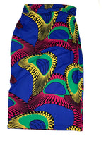 Load image into Gallery viewer, African Print High-wasited Midi Stretch Pencil Skirt