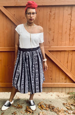 Load image into Gallery viewer, African Print Skirt (with pockets)