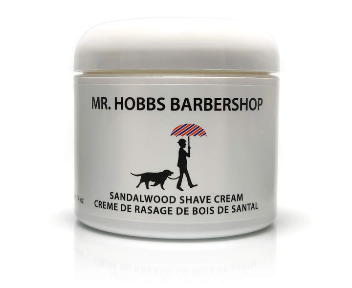 Mr. Hobbs Sandalwood Shave Cream Main Product Image