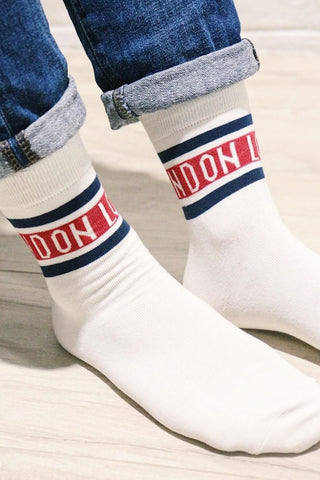 LONDON Print Socks