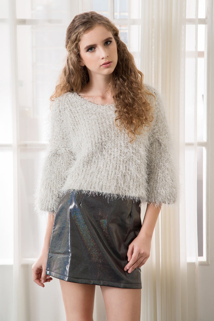 Sparkle Fluffy Top