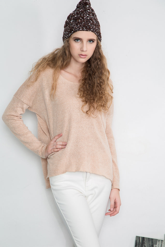 Yarn Sweater - Beige