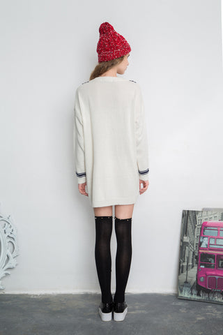 Sailor Knitted Dress