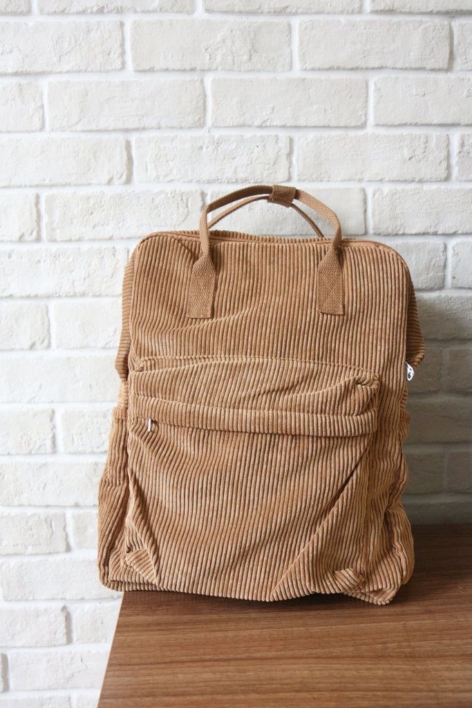 Shalex Corduroy Backpack