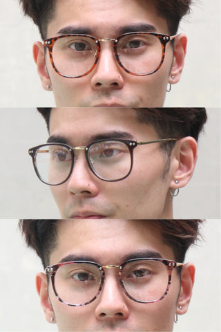 Colored Studs Glasses