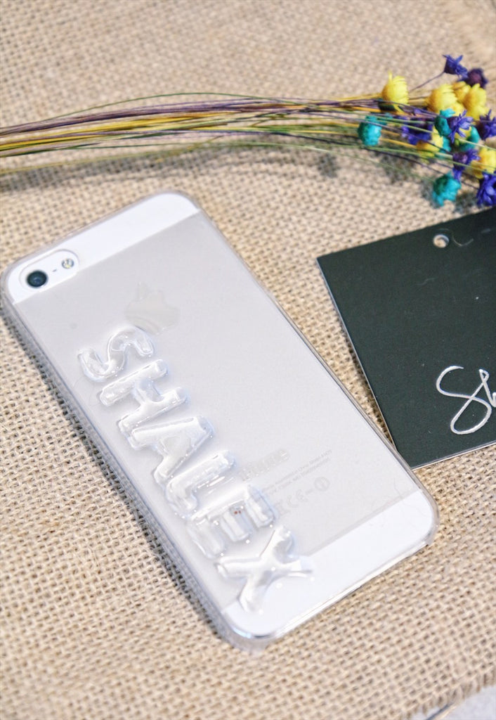3D Personalised Name Phone Case
