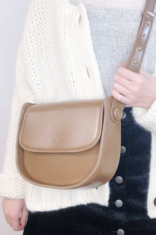 Classic Box Bag Shoulder Bag - Brown