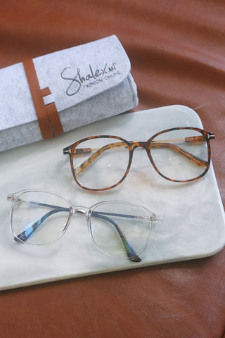 Clear Square Glasses