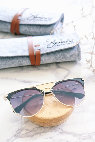 Metal Double Bar Sunglasses