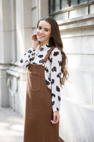 Shalex Dungaree Dress