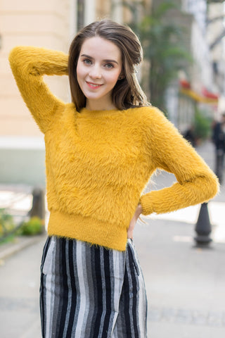 Shalex Fluffy Jumper