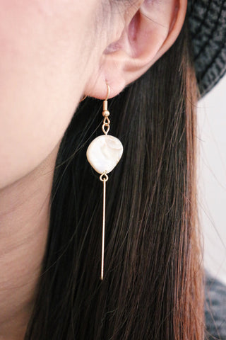 Stone Dangle Earrings