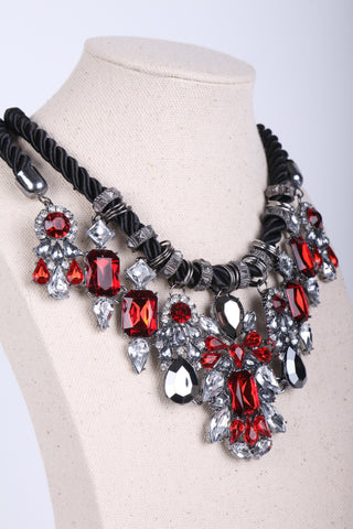 Gem Layered chain Necklace