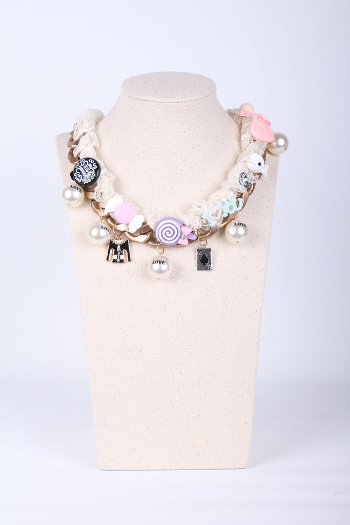 Sweetie Lace Chain Necklace