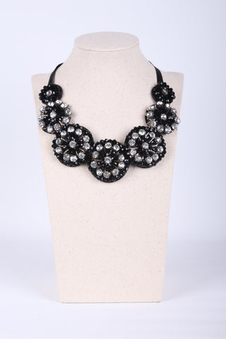 Blingbling Jewel Wrapped Collar Necklace