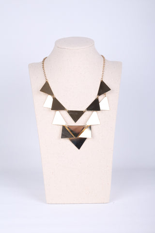 Triangle Disc Necklace
