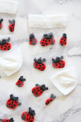 Coccinella Sheer Socks