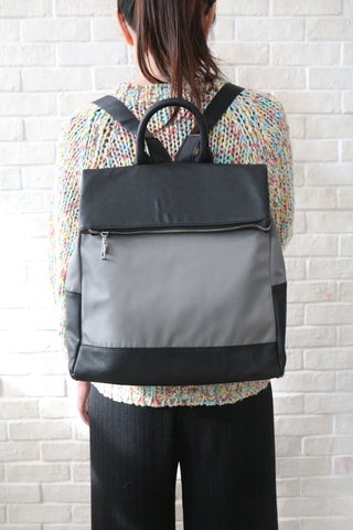 Shalex Foldover Backpack